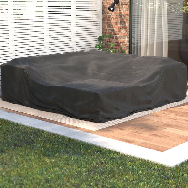 Ultimate Square Patio Dining and Sofa Set Cover by Freeport Park