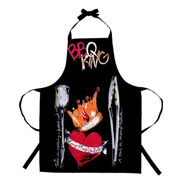 Julia Junkin BBQ King Apron by Peking Handicraft