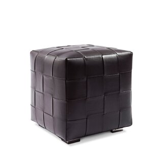 Leather Cube Ottoman By Serge De Troyer Collection
