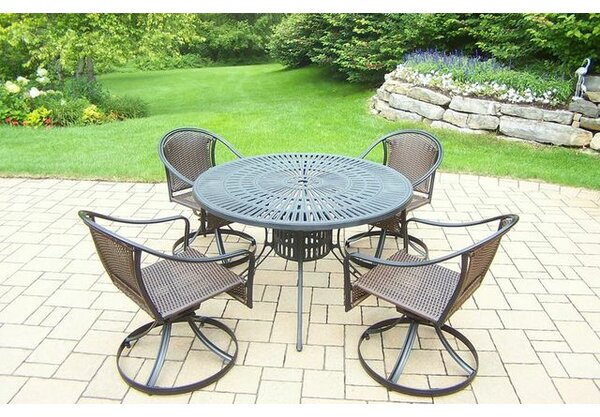 Sunray Tuscany 5 Piece Dining Set by Oakland Living