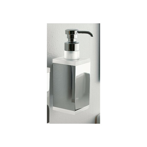 Eden Wall Mount Rectangular Liquid Soap Dispenser by Toscanaluce by Nameeks