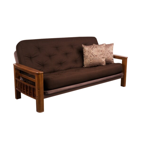 Foskey Brighton Super Spring Futon and Mattress by Millwood Pines