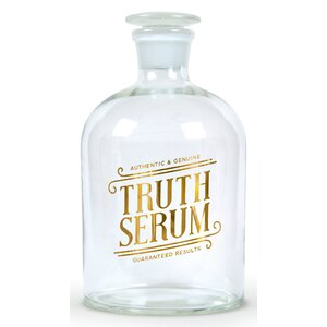 Truth Bottled Up 34 oz. Decanter