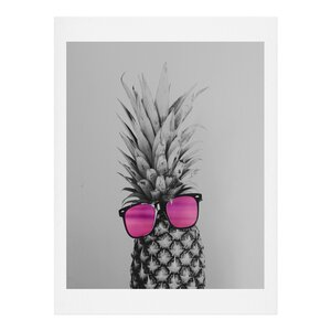 'Mrs. Pineapple' Graphic Art Print by East Urban Home