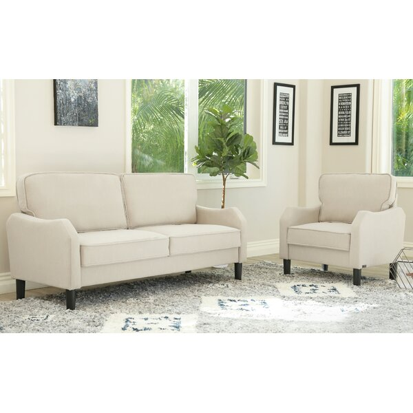 Buco 2 Piece Living Room Set by Charlton Home
