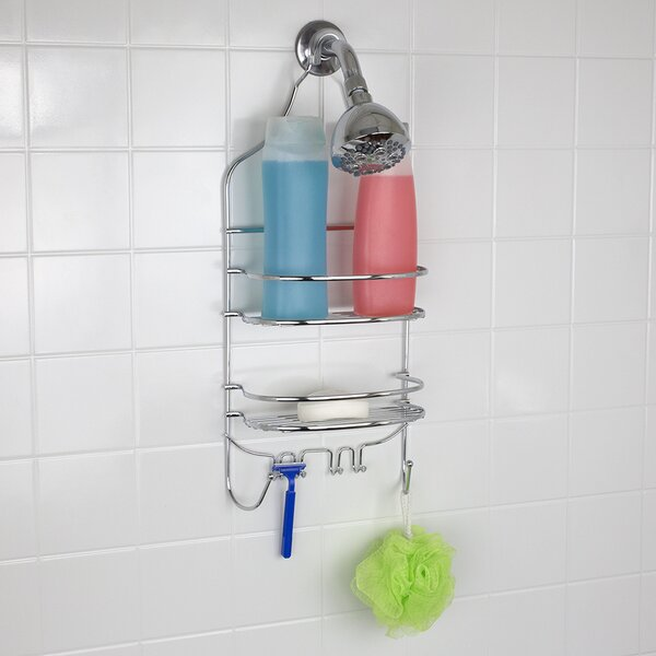 Flat Wire Shower Caddy by Home Basics