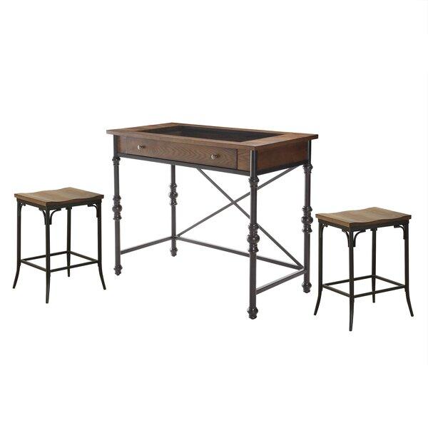 Manriquez 3 Piece Pub Table Set by Gracie Oaks