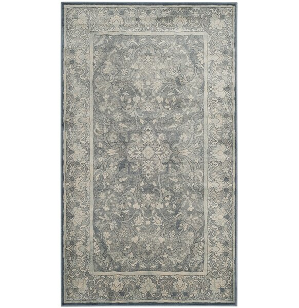 Crestshire Blue Area Rug by Darby Home Co