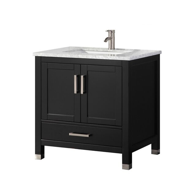 Peralez Modern 30'' Single Bathroom Vanity Set by Brayden Studio