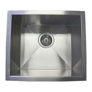 Narrow Sinks Kitchen Small kitchen sinks wayfair 17 x 15 single bowl undermount kitchen sink workwithnaturefo