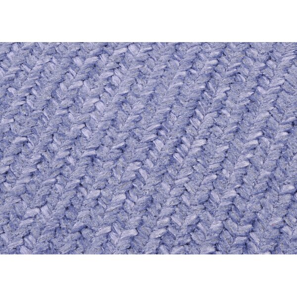 Simple Chenille Amethyst Area Rug by Colonial Mills