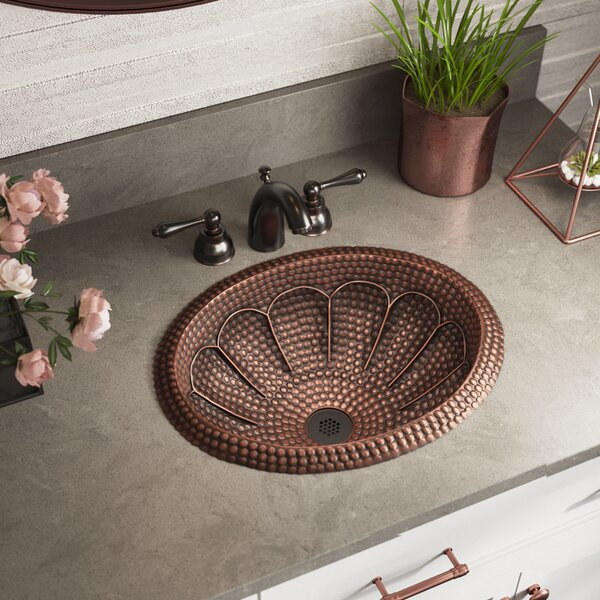 Metal Oval Bathroom Sink