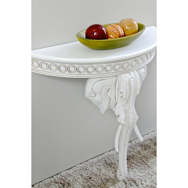 Betty Half-Circle Console Table By Astoria Grand