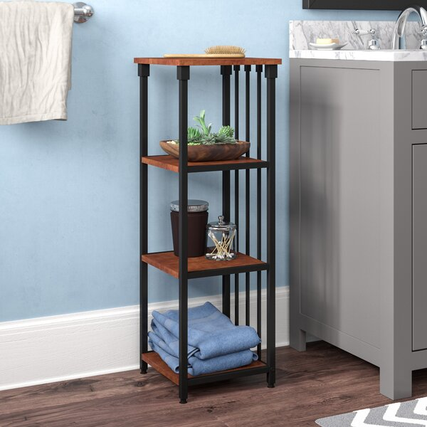 Tammy 12 W x 35 H Bathroom Shelf by Winston Porter