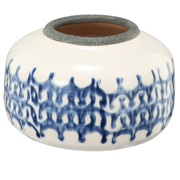 Sumarr Ceramic Pot Planter by A&B Home