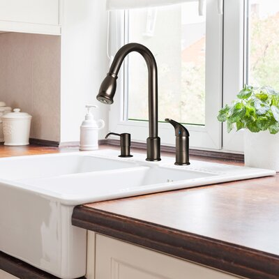 Find The Perfect Bronze Amp Copper Kitchen Faucets Wayfair