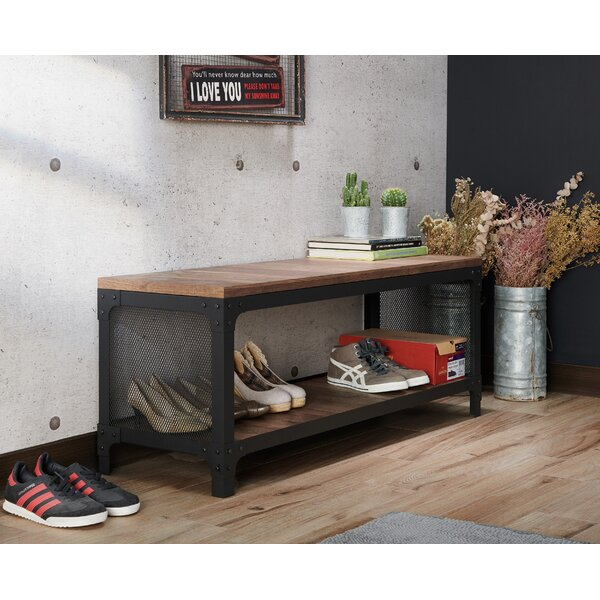 Mcgowen Storage Bench by Williston Forge