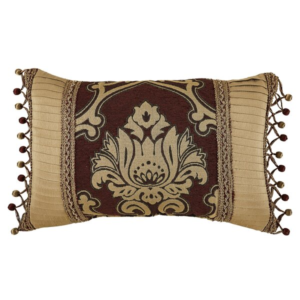 Gianna Boudoir Lumbar Pillow by Croscill Home Fashions