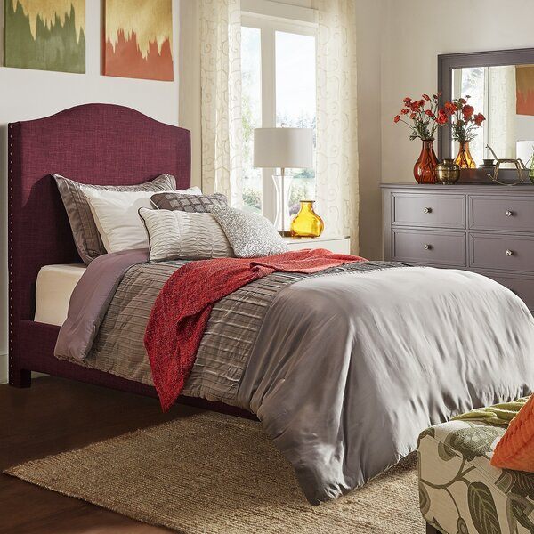 Winstead Twin Upholstered Panel Bed by Three Posts