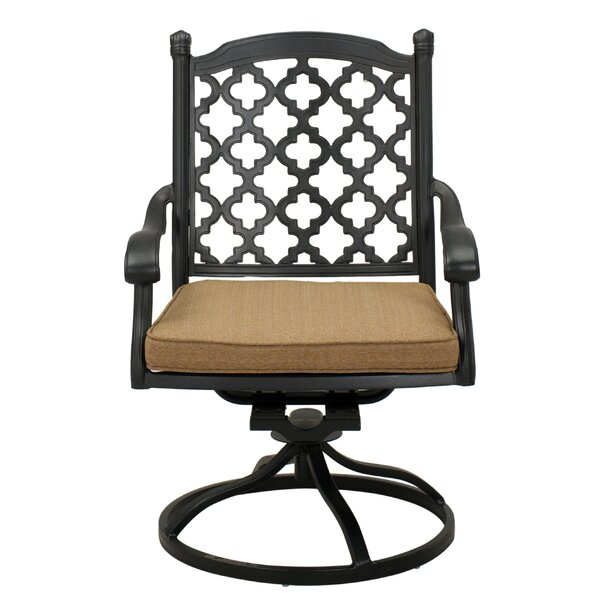 Waconia Swivel Rocking Chair with Cushions (Set of 4) by Darby Home Co