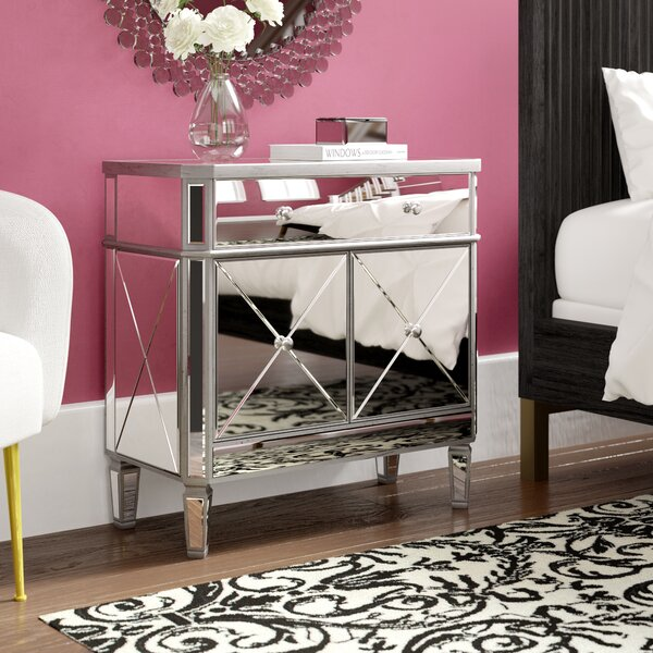 Nicci 1 Drawer 2 Door Accent Cabinet by House of Hampton