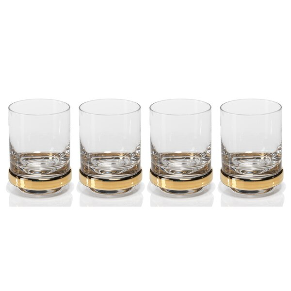 Artu 10.82 oz. Snifter/Liqueur Glasses (Set of 4) by Zodax