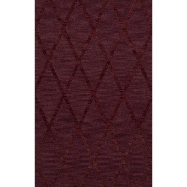 Dover Tufted Wool Burgundy Area Rug by Dalyn Rug Co.