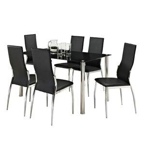 Essgruppe Jalisa mit 6 Stühlen von Aspect Design