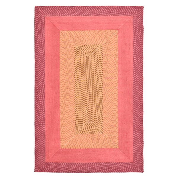 Georgina Pink & Beige Area Rug by August Grove
