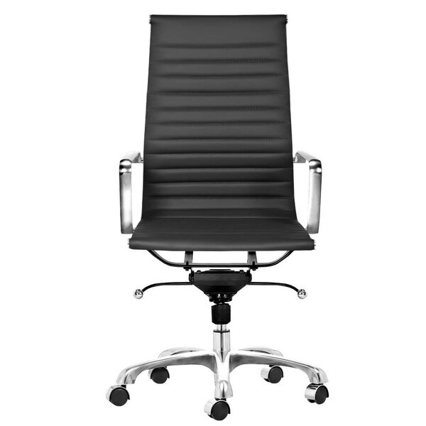Toni High Back Leather Executive Chair by C2A Designs