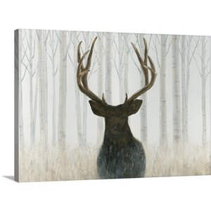 'Into the Forest' by James Wiens Painting Print on Wrapped Canvas by Great Big Canvas