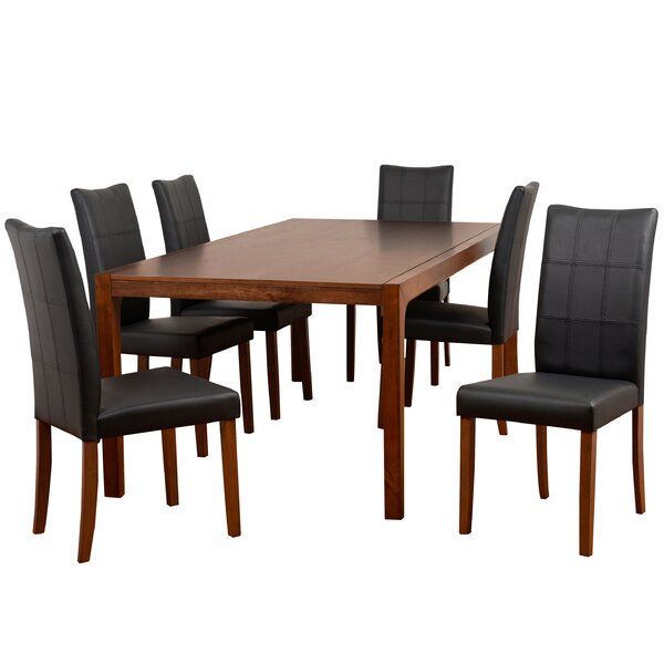 Pepper 7 Piece Dining Set by Modern Rustic Interiors