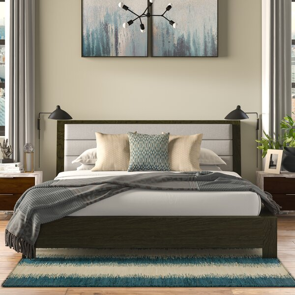 Sirena Upholstered Platform Bed by Brayden Studio