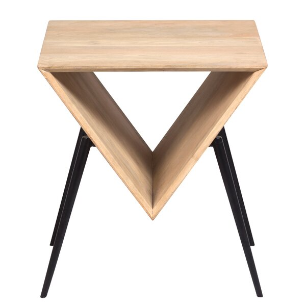 Arocho Contemporary End Table by Foundry Select