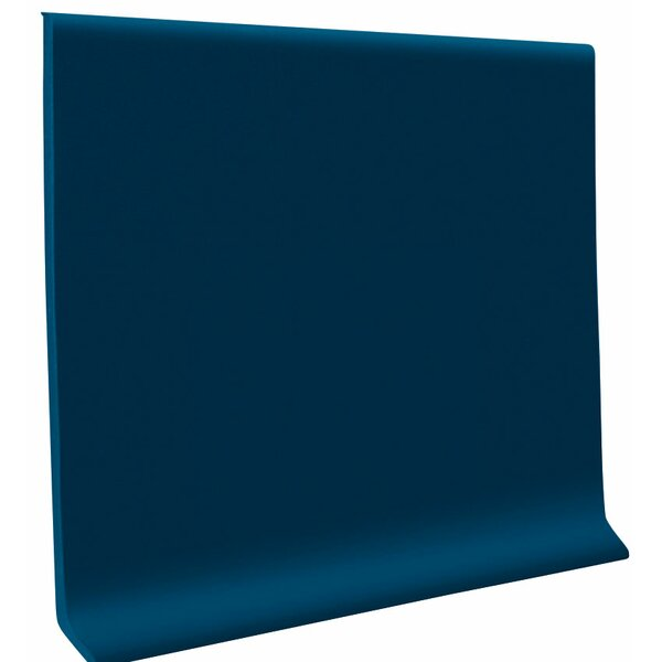 0.13 x 48 x 4 Cove Molding in Deep Navy (Set of 30) by ROPPE