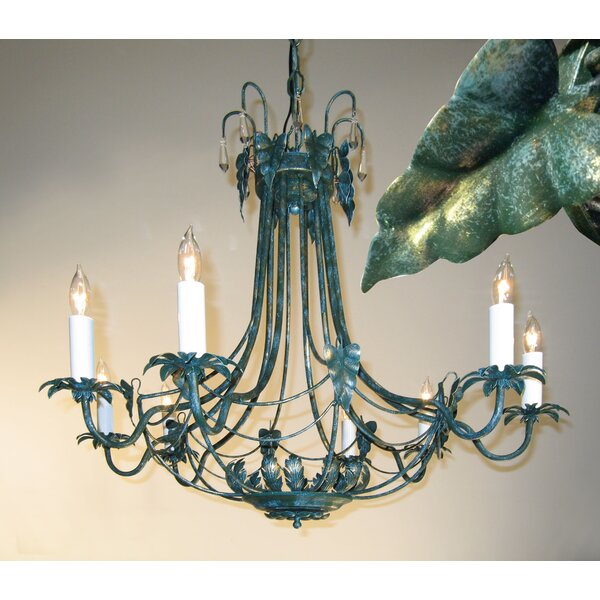 8-Light Candle Style Empire Chandelier By Classic Lighting