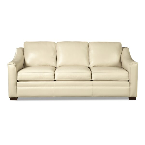 Review Pearce Leather Sofa Bed