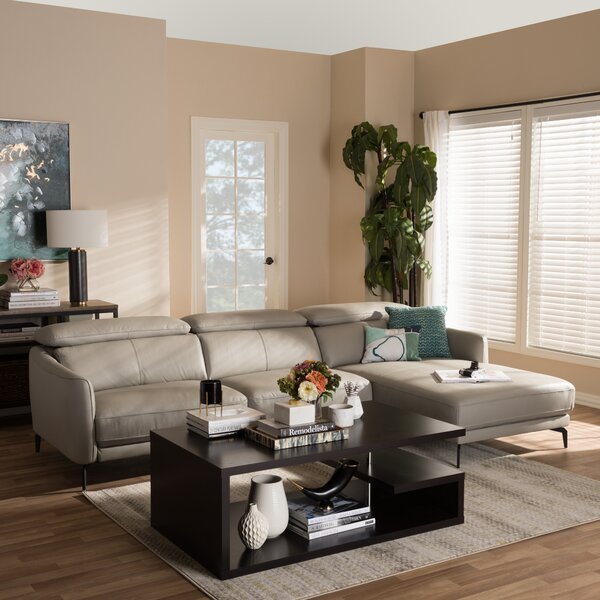 Ridder Right Facing Chaise 2-Piece Sectional by Orren Ellis