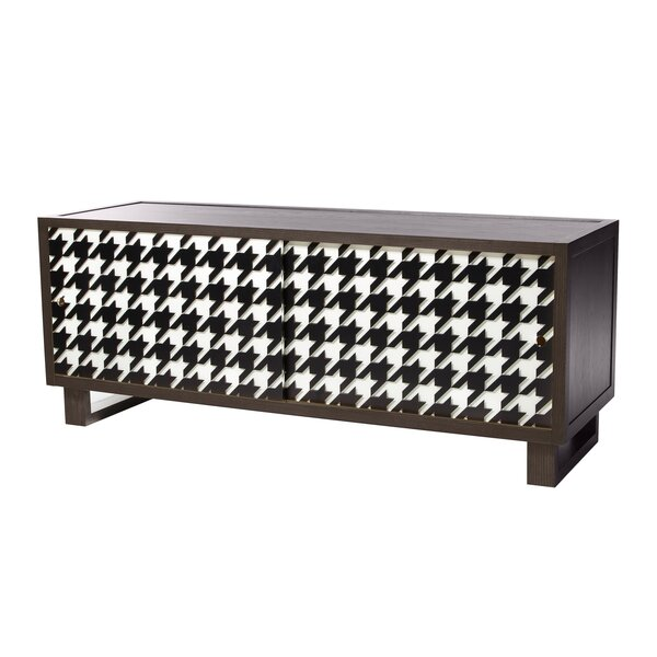 Keppler Houndstooth Credenza By Brayden Studio