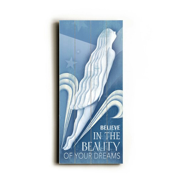 Beauty Of Your Dreams Graphic Art Multi-Piece Image on Wood by Artehouse LLC