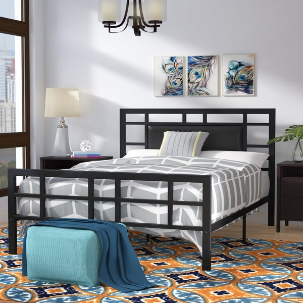 Bruce Upholstered Platform Bed by Zipcode Design
