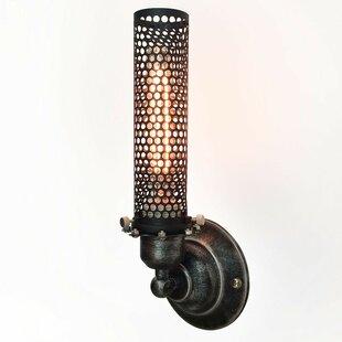 Online Reviews Kiera 1-Light Armed Sconce By Trent Austin Design