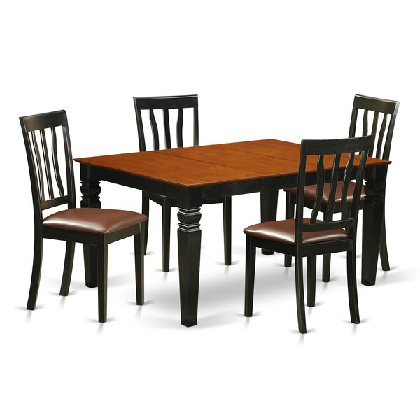 Arata 5 Piece Dining Set by Darby Home Co