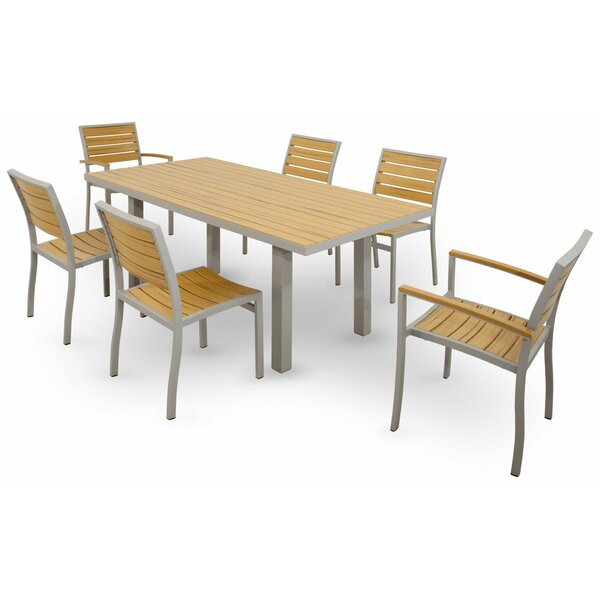 Loft 7 Piece Dining Set by Ivy Terrace