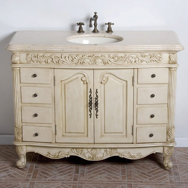 Durham 48 Single Bathroom Vanity Set by B&I Direct Imports