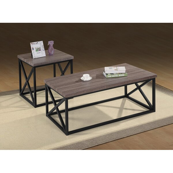McManus 3 Piece Coffee Table Set by 17 Stories