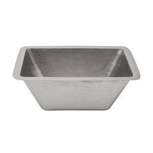 Looking for Metal Rectangular Undermount Bathroom Sink By Premier Copper Products