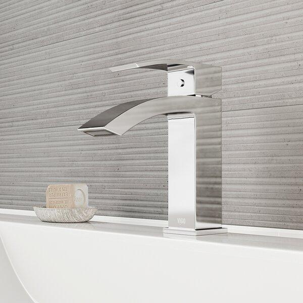 Satro Single Hole Bathroom Faucet By Vigo.