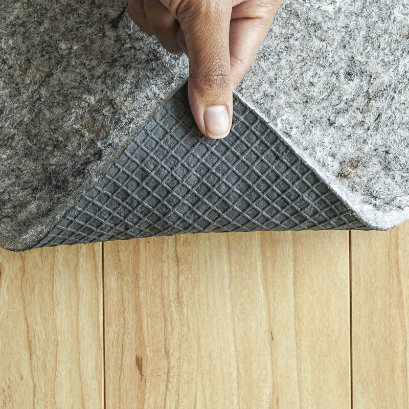 Half Inch Superior Hard Surface Felt Rug-Pad Non-slip All Size Custom Size Cut
