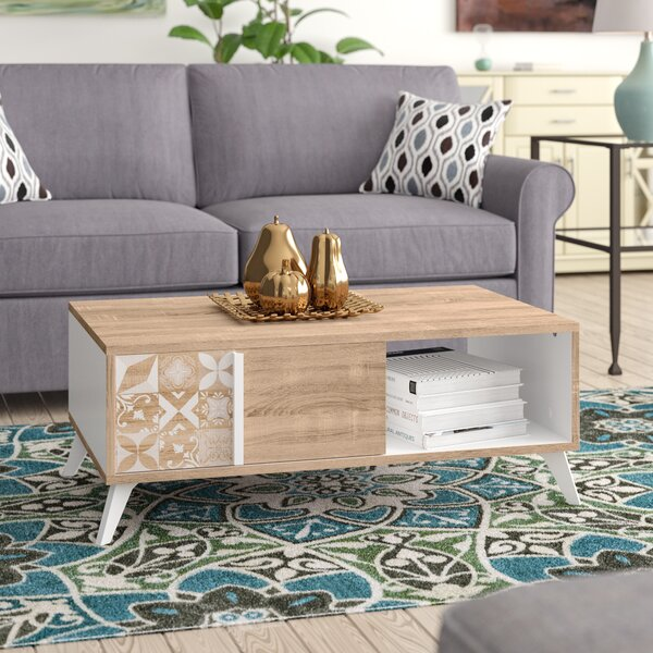 Tillie Coffee Table With Storage By Mistana